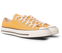 1970s Chuck Taylor All Star Canvas Sneakers - Yellow