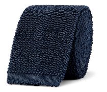 6cm Knitted Mulberry Silk Tie