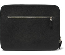 Cadogan Full-Grain Leather Zip-Around Pouch
