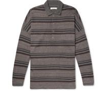 Striped Jacquard Polo Shirt