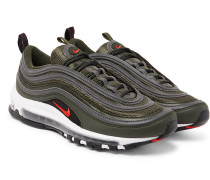 Air Max 97 Faux Leather And Mesh Sneakers - Green