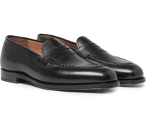 Lloyd Leather Penny Loafers - Black