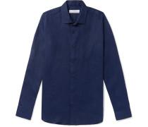 + Orlebar Brown Giles Slim-Fit Linen Shirt