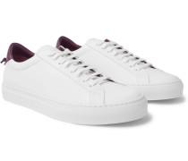 Urban Street Leather Sneakers - White