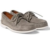 Downeast Nubuck Boat Shoes