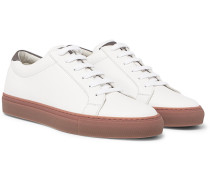 Full-grain Leather Sneakers - White