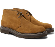 Storm-welted Suede Chukka Boots