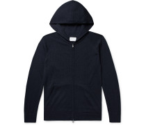 Royal Alpaca, Cashmere and Silk-Blend Zip-Up Hoodie