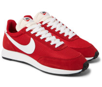 Air Tailwind 79 Mesh, Suede And Leather Sneakers - Red
