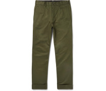 Andover Tapered Cotton-twill Trousers