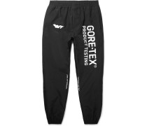 Tapered Printed Gore-tex Trousers