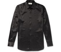 Studded Silk Shirt