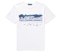 + Paulo Mariotti Arpoador Printed Cotton-jersey T-shirt