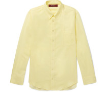 Sander Cotton-twill Shirt