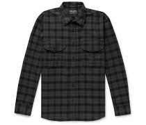 Alaskan Guide Checked Cotton-Flannel Shirt