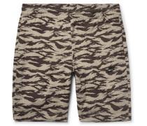 Sportswear Vaporwave Slim-fit Printed Nylon Shorts
