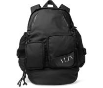 Valentino Garavani Logo-print Nylon Backpack