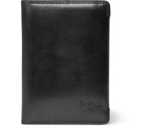 Bifold Leather Cardholder - Black