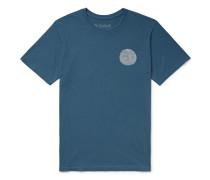Garment-Dyed Printed Cotton-Jersey T-Shirt