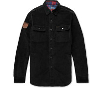 Cotton-Blend Corduroy Shirt Jacket