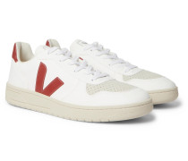V-10 CWL Faux Leather Sneakers