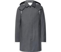 Dunoon Bonded-wool Hooded Raincoat