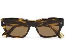 Isba Round-frame Tortoiseshell Acetate Sunglasses - Tortoiseshell