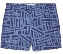 Modernist Bretton Short-Length Printed Swim Shorts