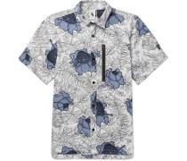 Nikelab Nrg Floral-print Cotton Shirt