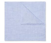 Puppytooth Linen Pocket Square