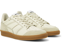 Full-Grain Leather and Suede Sneakers
