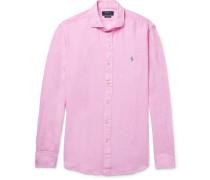 Slim-fit Linen Shirt