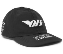 Logo-print Gore-tex Cap - Black