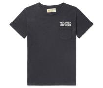 Logo-Print Hemp and Cotton-Blend Jersey T-Shirt