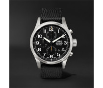 Big Crown ProPilot Chronograph 44mm Stainless Steel and Nylon Watch, Ref. No. 01 774 7699 4134TS