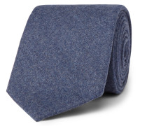 8cm Mélange Virgin Wool And Cashmere-blend Tie
