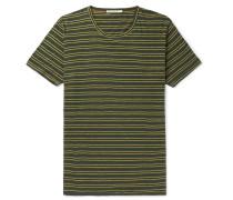 Anders Striped Slub Organic Cotton-Jersey T-Shirt