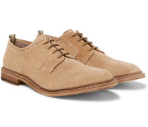 Durham Suede Derby Shoes - Light brown