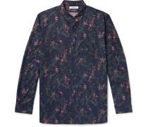 + Liberty London Dweller Button-Down Collar Printed Cotton-Poplin Shirt