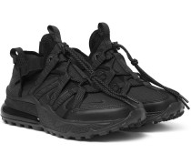 Air Max 270 Bowfin Ripstop, Mesh And Faux Leather Sneakers - Black