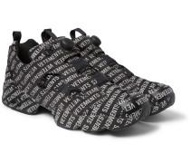 + Reebok Instapump Logo-print Sneakers