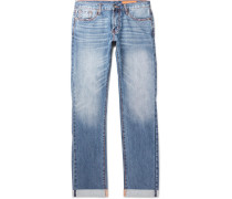 Mick Slim-fit Selvedge Denim Jeans - Blue