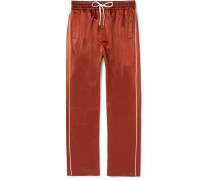 Buck Slim-fit Piped Satin Sweatpants
