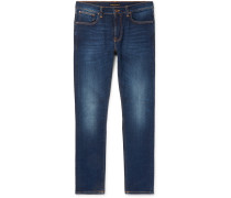 Lean Dean Slim-fit Organic Stretch-denim Jeans - Blue