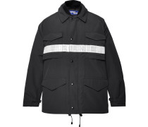 + Canada Goose Vinyl-trimmed Shell Down Jacket - Navy