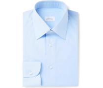 Light-blue Cotton-poplin Shirt - Light blue