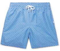 Tropez Mid-length Printed Swim Shorts