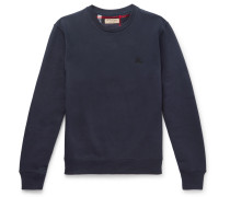 Fleece-back Cotton-blend Jersey Sweatshirt