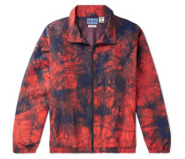 Tie-dyed Nylon Jacket - Orange