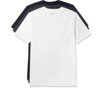 Three-pack Cotton-jersey T-shirts - Multi